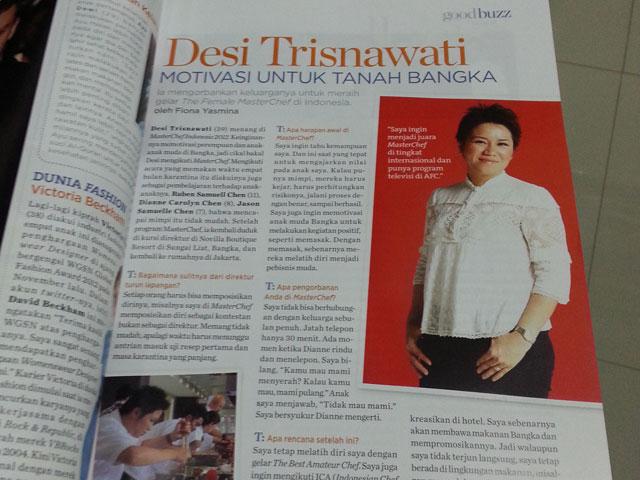 Publikasi Di Majalah Housekeeping
