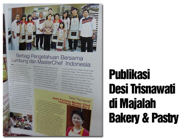 Publikasi Majalah Bakery & Pastry