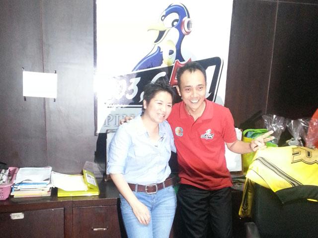 Interview di Pinguin Radio Bali