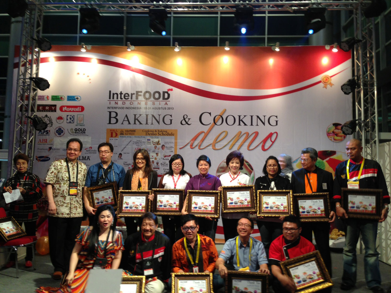 Cooking Demo Interfood 2013