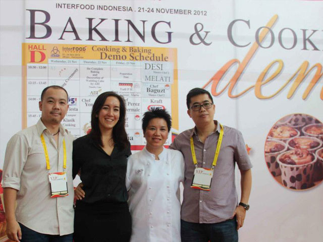 Cooking Demo Interfood Indonesia 2012