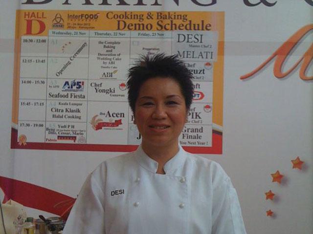 Interfood Cooking Demo bersama Desi Trisnawati