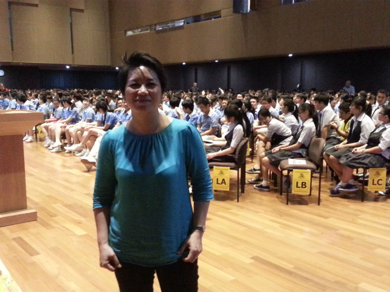 Sharing Motivasi Bina Bangsa School PIK