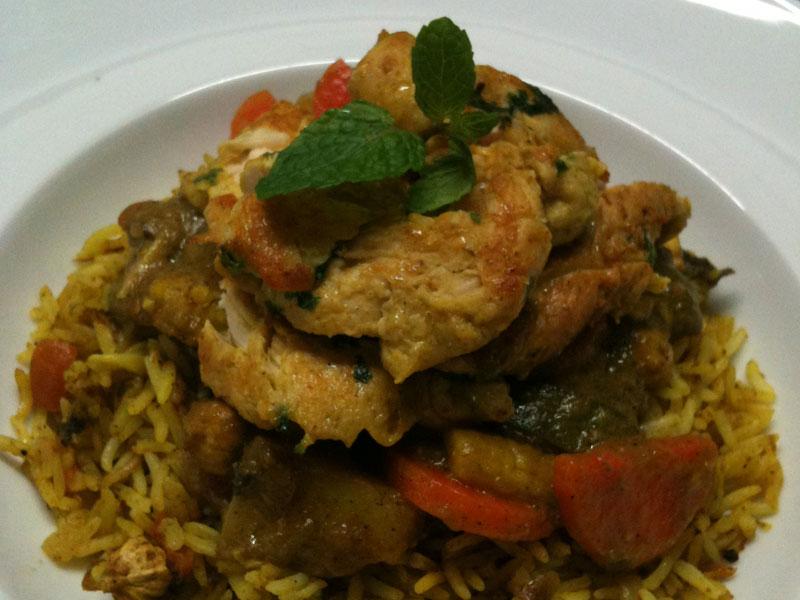Nasi Ayam Briyani