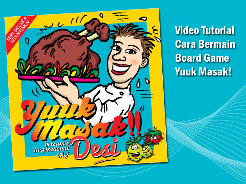 Video Tutorial Cara Bermain Board Game Yuuk Masak