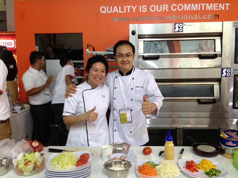 With Chef T Antonio Siberani