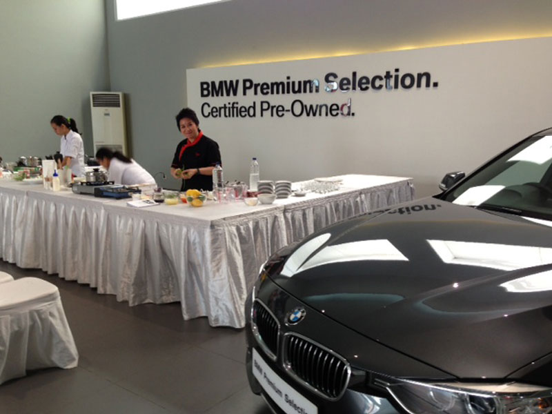 Cooking Demo di BMW Indonesia