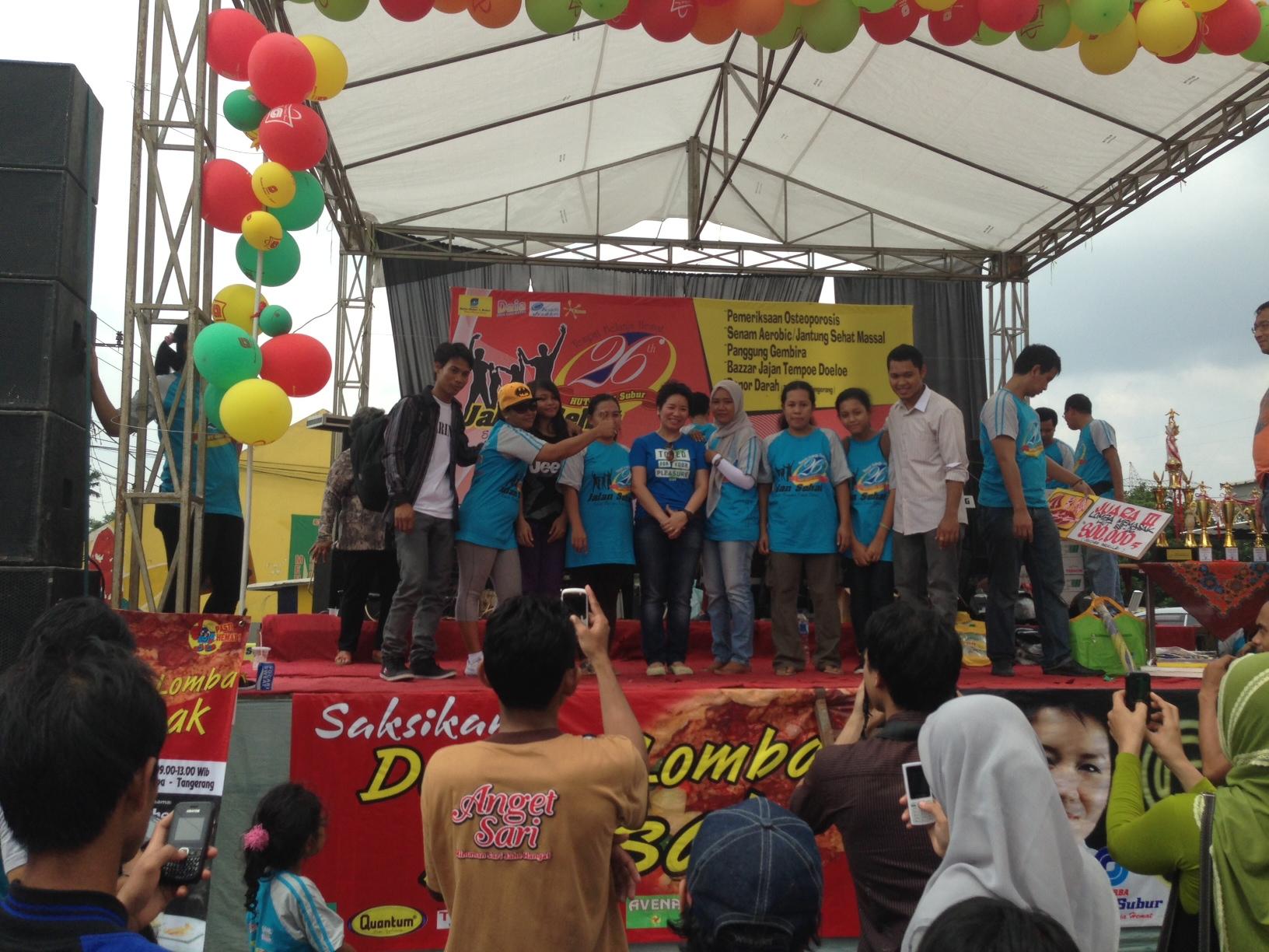 Liputan Event di Toserba Sabar Subur, Cikupa – Tangerang
