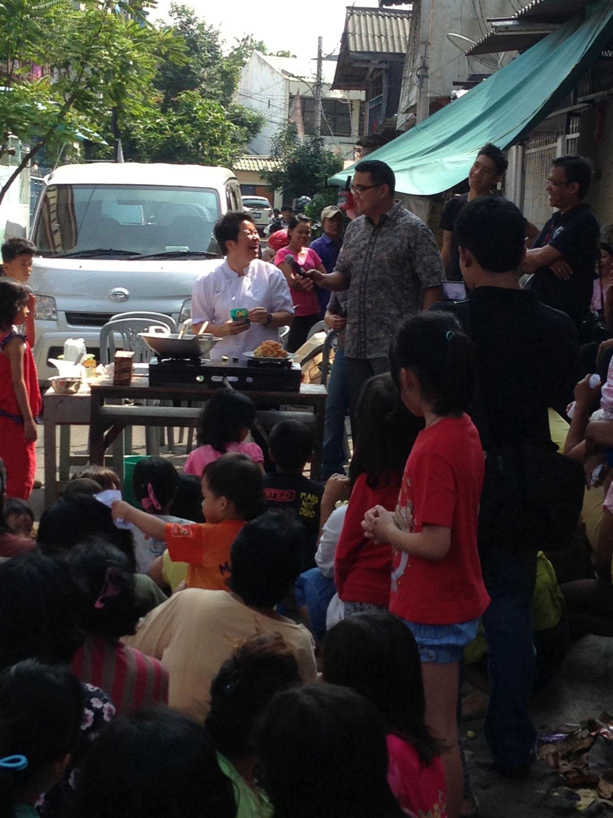 Berbagi Ilmu Kuliner bersama Yayasan Cinta Anak Bangsa (YCAB)