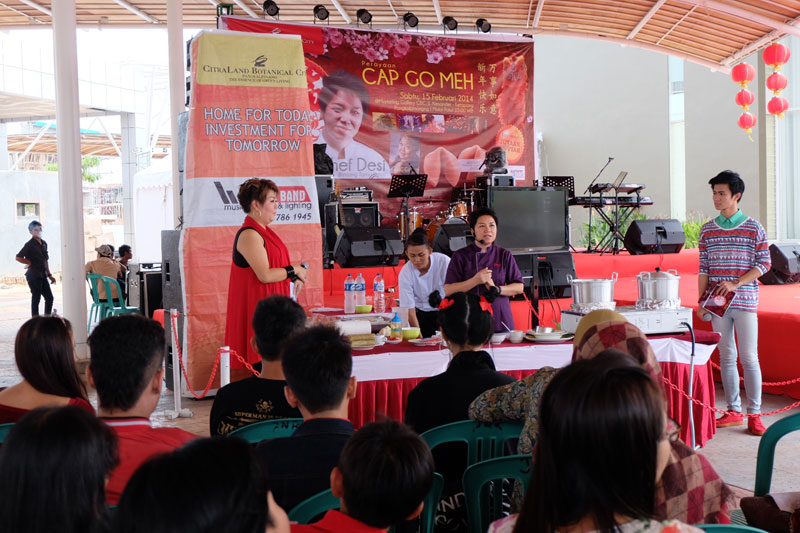 Demo Masak & Lomba Masak Citra Land – Bangka 15 FEB 2014